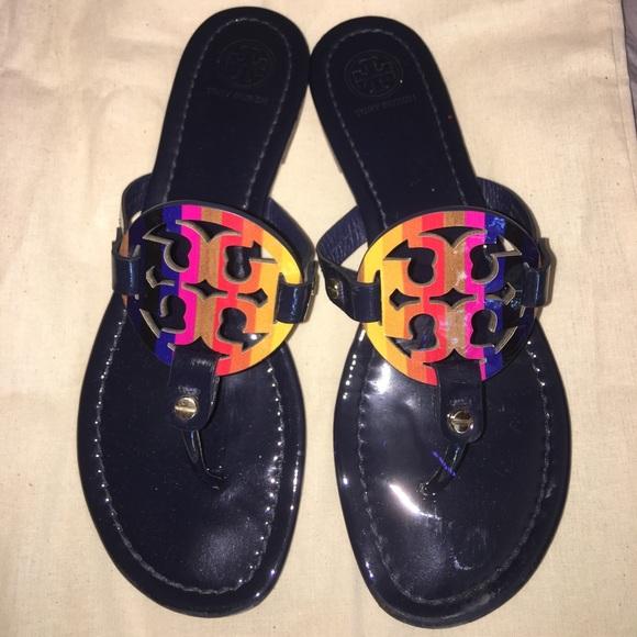 Tory Burch Tory Burch Rainbow Miller Sandals Size 8