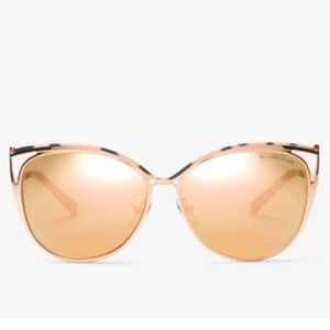 Michael Kors Accessories - MK - Ina Cateye Sunnies - Gold and Rose Gold