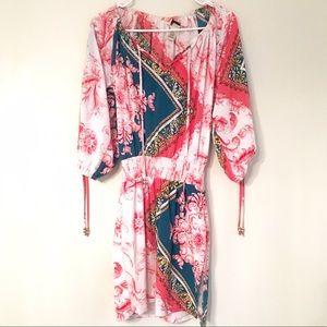 CACHE CHAIN PRINT DRESS SIZE SMALL