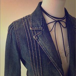 Levi's Jean Blazer Style Jacket