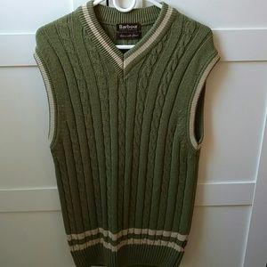 Barbour Other - Vintage Barbour vest, green and beige