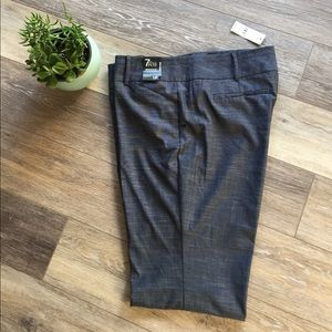 NY&CO 7th Ave Suiting Bootcut Navy Trousers 16