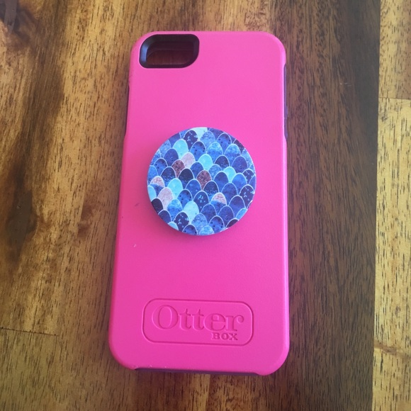 buy popular ae73b 6db30 Iphone 5/5s otterbox case with popsocket.