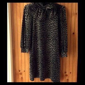 Vava by Joy Han Dresses & Skirts - VaVa by Joy Han leopard print mini dress size S