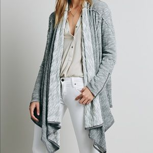 Free People In the Loop Cardigan Grey Size XS
