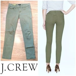 🍸Toothpick J. Crew olive green jeans