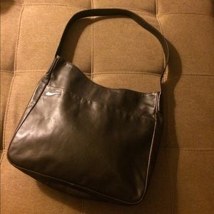 Francesco Biasia Handbags - Francesco Biasia genuine leather handbag, brown.