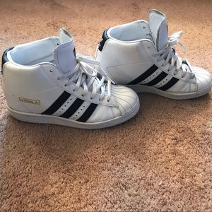 adidas Shoes - Adidas Superstar High Tops