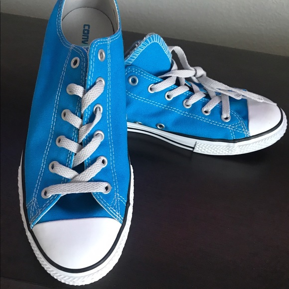 eb5168e5ef35b0 Royal Blue Converse All Star Sneakers