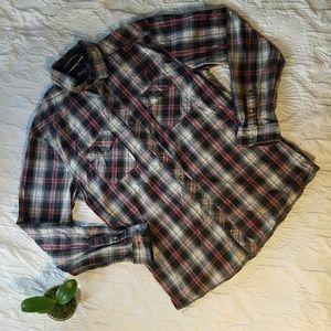 Buffalo David Bitton Other - Buffalo Men's Long Sleeve Button Down Sz XL