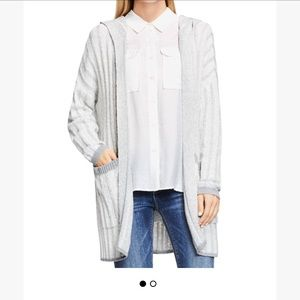NWT Vince camuto hooded cardigan