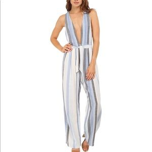 Free People Other - Free People striped jumpsuit