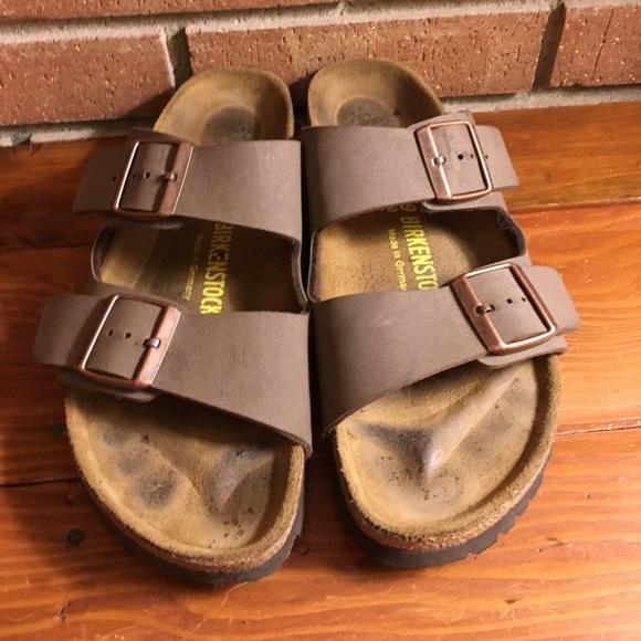 9e6fe9b2f7cc Birkenstock Shoes - Birkenstock Arizona tobacco birkiflor sandals 39 8