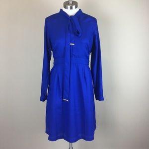 Worthington Dresses & Skirts - Royal Blue Long Sleeve Career Dress