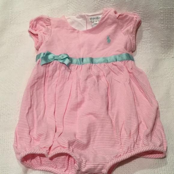 e8f1761f6 Ralph Lauren baby girl shorts romper worn once 24M.  M_594873964e95a3076300c4a2