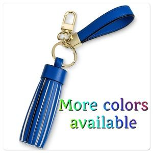 NWT VARIOUS COLORS AVAILABLE Tassel keyfob