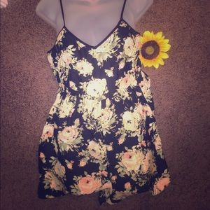 Kimchi Blue Dresses & Skirts - Kimchi Blue Urban Outfitters Floral Romper