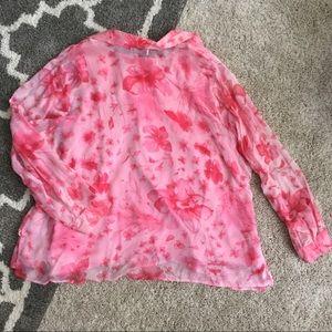 New York City Design Co. Dresses - Pretty Pink Floral Chiffon Skirt Ensemble
