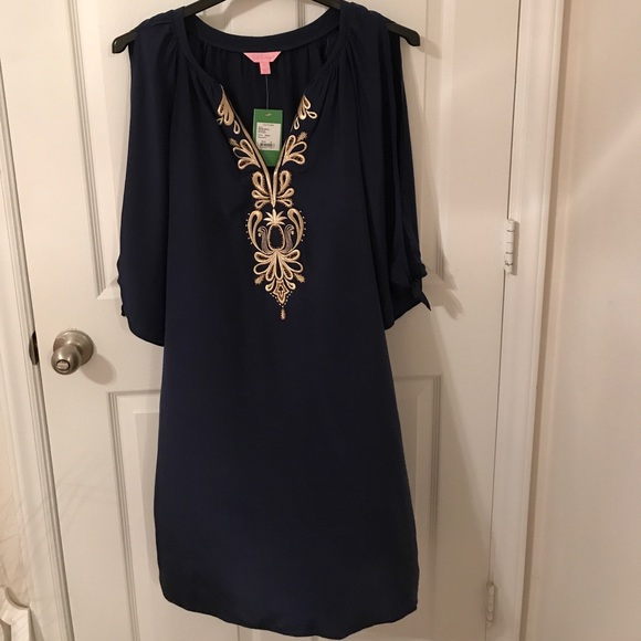 7a9d60ff19f Lilly Pulitzer Dresses | Bryce Tunic Dress In Navy | Poshmark