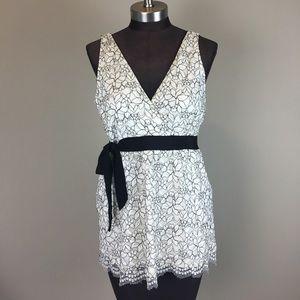 White House Black Market Tops - WHBM | Lace V Dress Tank