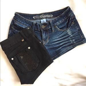 Pants - 🎯 FINAL SALE 🎯Jean Shorts BUNDLE