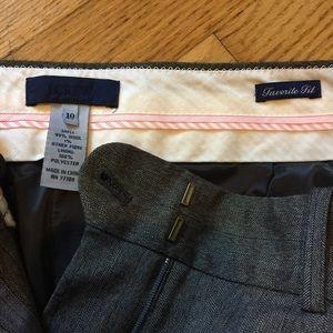 """J. Crew Pants - NWOT J. Crew """"Favorite Fit"""" Trousers"""