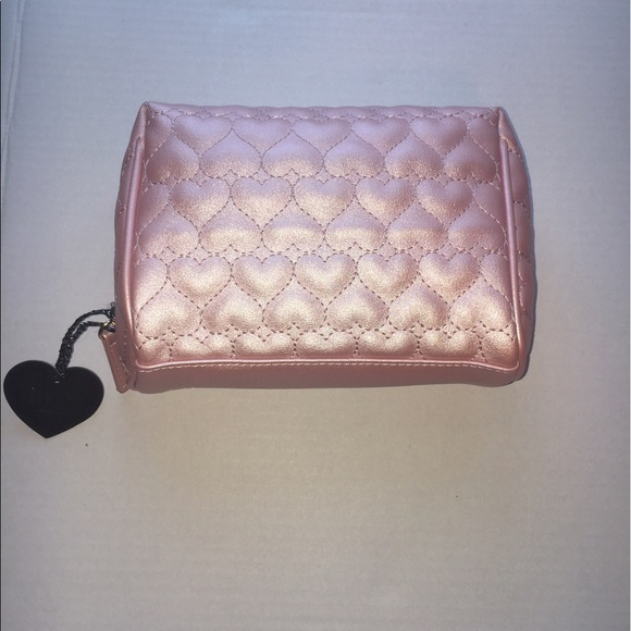 Imoshion Sale Vegan Baby Pink Quilted Heart Cosmetic