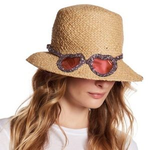 kate spade Accessories - kate spade Through Rose Colored Glasses Cloche Hat