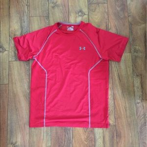 Under Armour Other - Under Armour Red Fitted Shirt