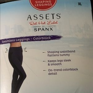 Assets By Spanx Pants - 🎀Assets Spanx Seamless Leggings-Colorblock🎀
