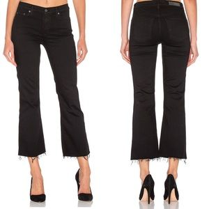 GRLFRND Joan Cropped Flare Jeans for PETITE