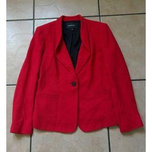 Lafayette 148 New York Jackets & Blazers - Lafayette 148 New York Red Blazer Coat