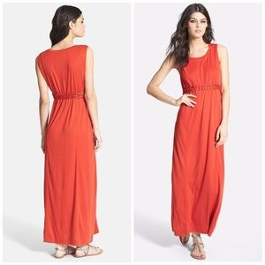 Knot Sisters Dresses & Skirts - Knot Sisters Logan Braided Waist Jersey Maxi Dress