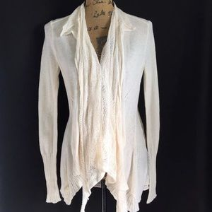 Angel Of The North Sweaters - Angel of The North Anthropologie Cardigan Ivory