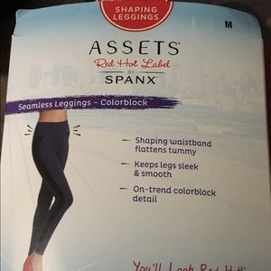 Assets By Spanx Pants - 🎀Assets Spanx Seamless Leggings Colorblock🎀