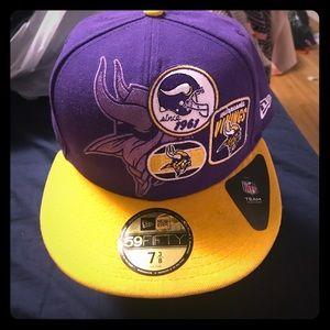 New Era Other - 💜 Minnesota Vikings New Era 59FIFTY Snapback NEW