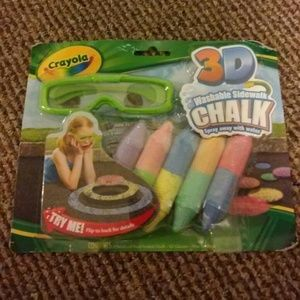 Other - CRAYOLA 3D WASHABLE SIDEWALK CHALK