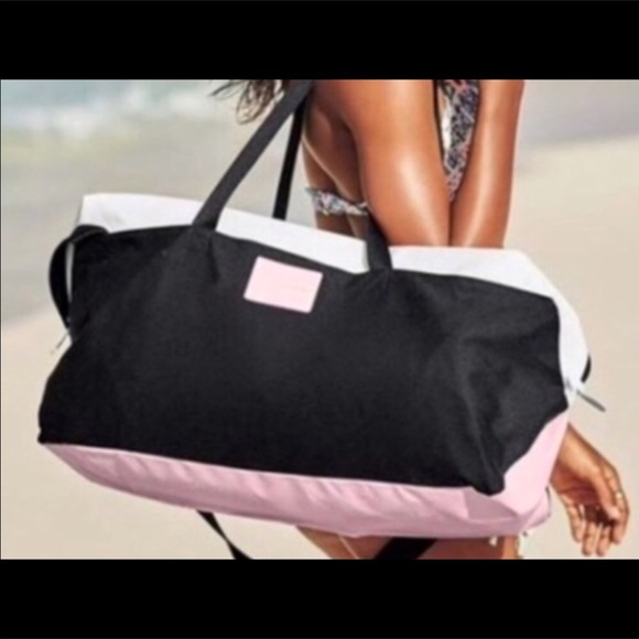 d9bfcf320249 PINK Victoria's Secret Bags | Victorias Secret Weekend Tote Duffle ...