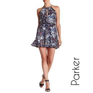 Parker Dresses & Skirts - PARKER Nathan Ruffled Hem Halter Dress