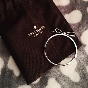 🆕 Kate Spade silver bow bangle