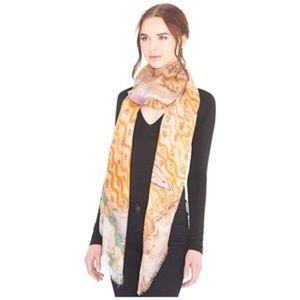 BRAND NEW Alice+Olivia Waterworld Lola scarf