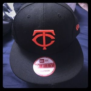 New Era Other - Minnesota Twins Black & Orange New Era Snapback 🖤