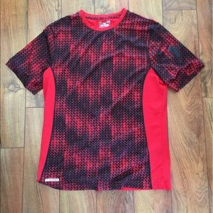 Under Armour Other - Under Armour Red And Black Shirt