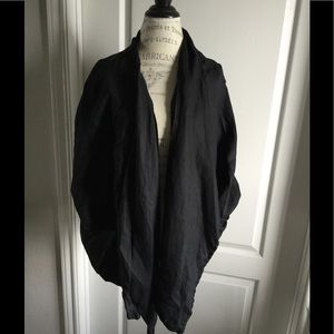 Jackets & Blazers - linen jacket black blazer draped 2XL 3XL