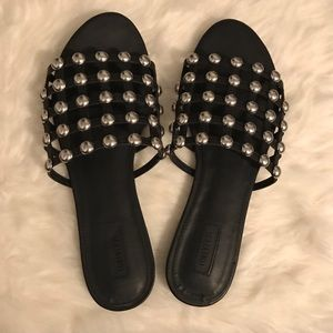 Studded Cage Sandals