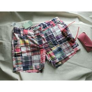 Siegfried Pants - NWT Siegfried Patchwork Quilted Plaid Shorts 12
