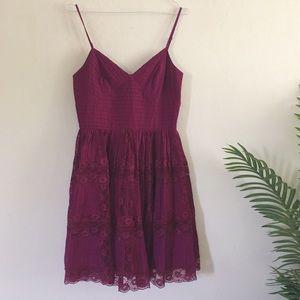 Betsey Johnson Dresses & Skirts - Betsey Johnson Purple Ballerina Lace Dress
