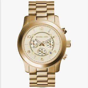 Michael Kors Accessories - Michael Kors gold runway watch
