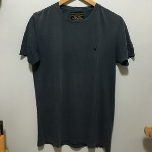 All Saints Other - All Saints Gray Blue T-Shirt XS
