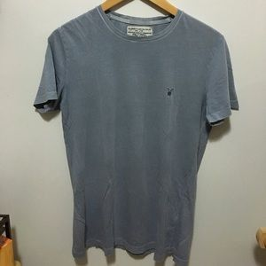 All Saints Other - All Saints Light Blue Gray T-Shirt XS